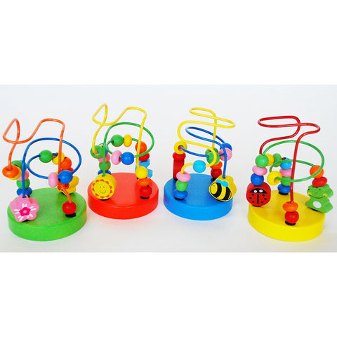 Wooden Wise Beads Assorted Toyslink