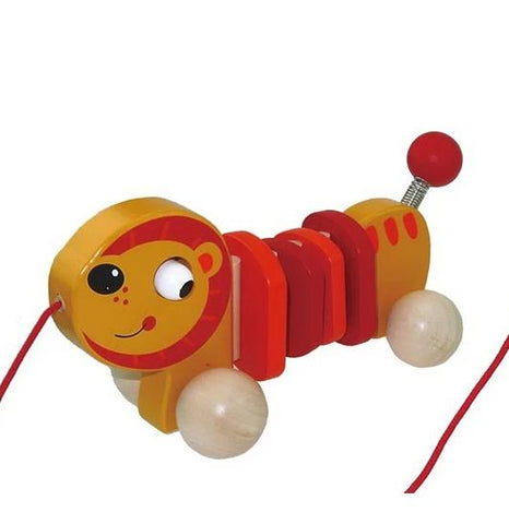 Pull Along Lion Toyslink