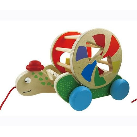 Wooden Pull Along Turtle or Snail Toyslink