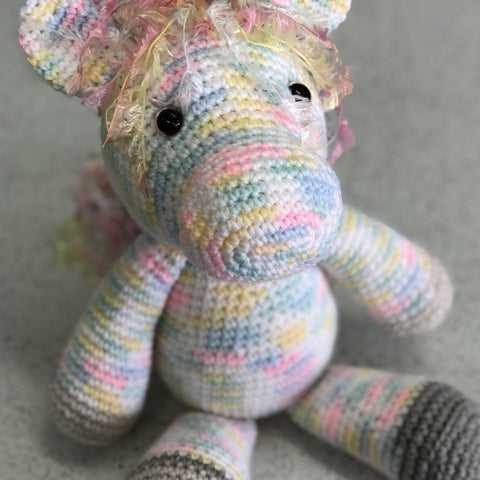 Handmade Crochet Soft Toy Pony