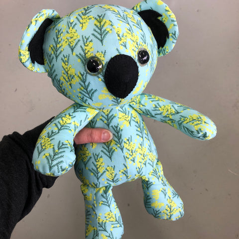 Handmade Soft Toy  Koala - Wattle