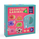 Geometry & Animal Puzzle Toyslink