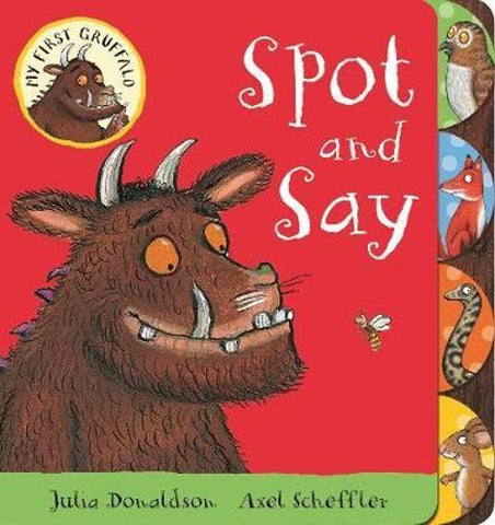 My First Gruffalo Spot and Say