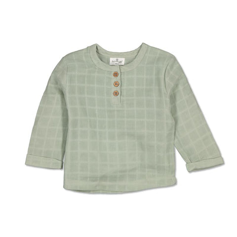 Burrow & Be Jasper Shirt Sage