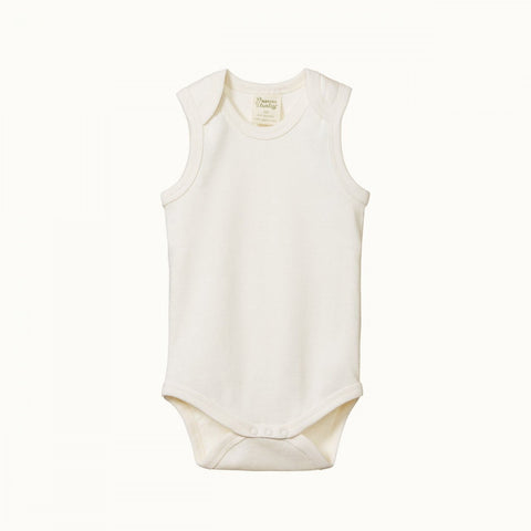 Nature Baby Singlet Bodysuit - Natural