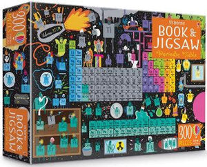 Periodic Table Book & 300-Piece Jigsaw Puzzle