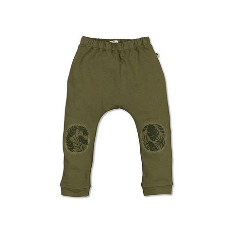 Burrow & Be Drop Crotch Pants Olive/Thicket