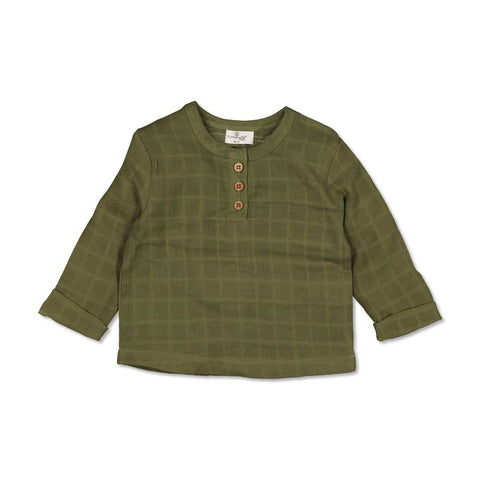 Burrow & Be Jasper Shirt Olive