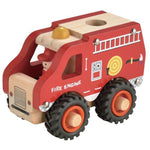 Wooden Fire Engine Toyslink