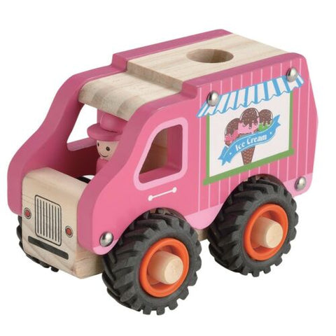 Wooden Ice Cream Truck Toyslink
