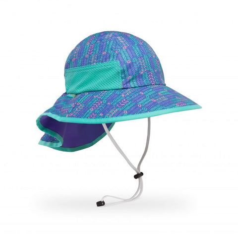 Kids Play Hat: Purple Arrow/Iris