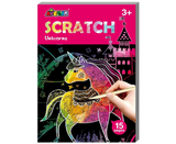 Avenir Scratch Mini Scratch Book Unicorns 6920773316020