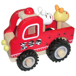 Wooden Zoo Truck Toyslink