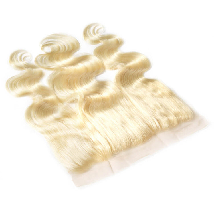 #613 Blonde 13*4 Lace Frontal Body Wave - cexxyhair.com