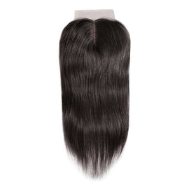 CEXXY Hair 4*4 Brazilian Hair Silk Base Closure Straight - cexxyhair.com