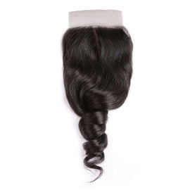 CEXXY Hair 4*4 Brazilian Hair Silk Base Closure Loose Wave - CEXXY Hair