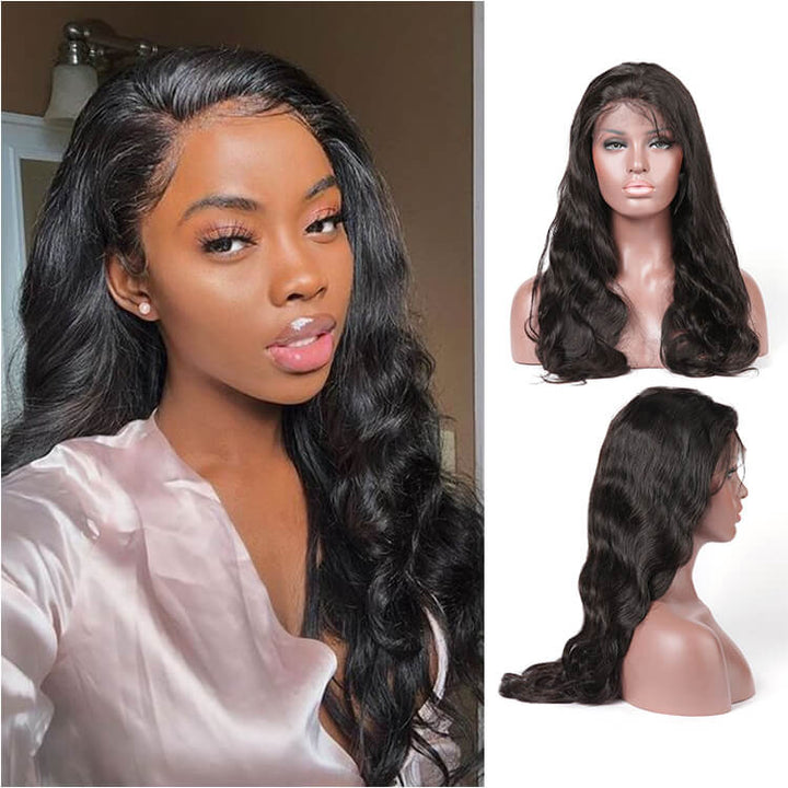 Transparent Invisible Lace Front Wig Body Wave 13x6 Undetected Lace Frontal - cexxyhair.com