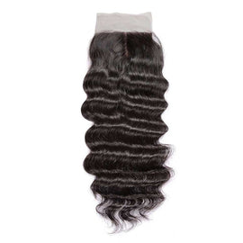 CEXXY Hair 4*4 Brazilian Hair Silk Base Closure Natural Wave - CEXXY Hair
