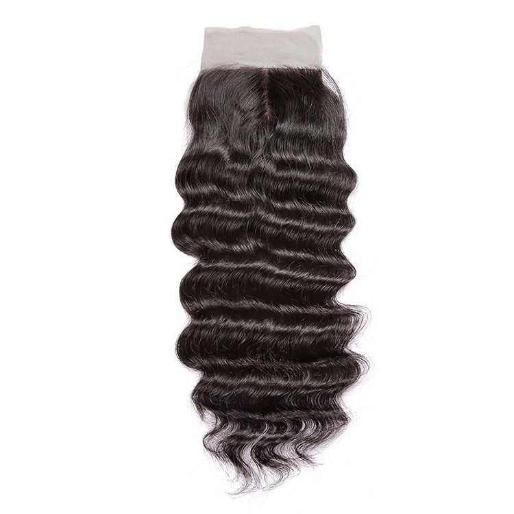 CEXXY Hair 4*4 Brazilian Hair Silk Base Closure Natural Wave - cexxyhair.com
