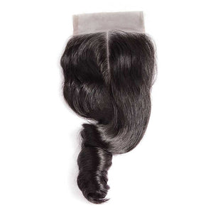 CEXXY Hair 4*4 Brazilian Hair Lace Closure Loose Wave - cexxyhair.com