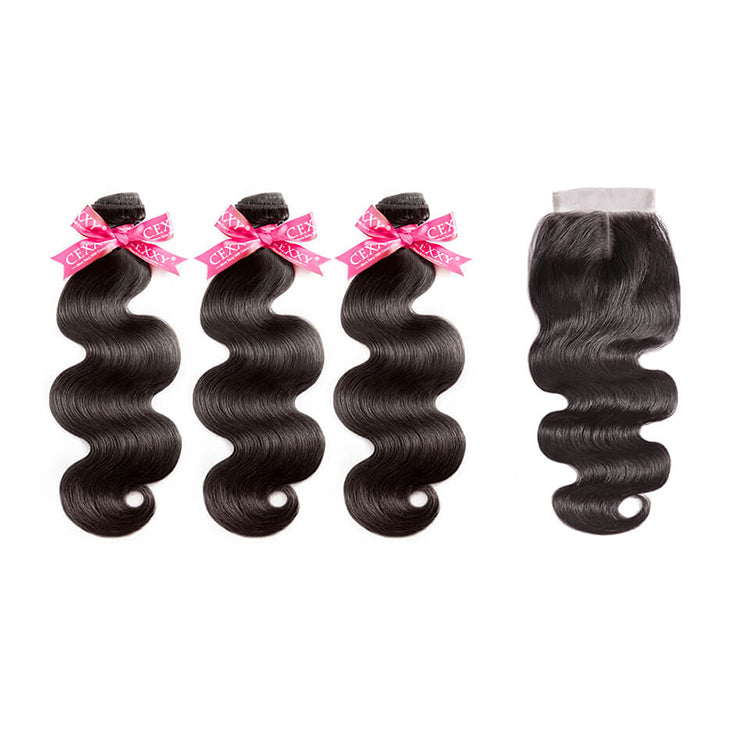 CEXXY Luxury Series Virgin Hair Body Wave Bundle Deal - cexxyhair.com