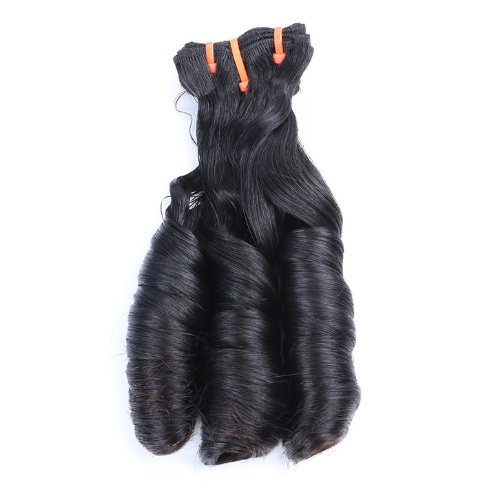 CEXXY HAIR SPRING CURLY 12A FUNMI HAIR EXTENSION UNPROCESSED VIRGIN HAIR