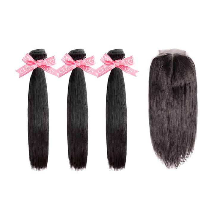 CEXXY Popular Series Virgin Hair Straight Bundle Deal - cexxyhair.com
