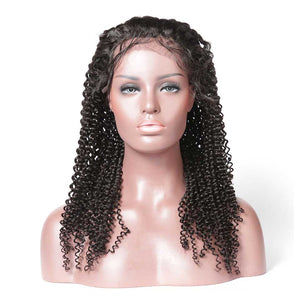 KINKY CURLY LACE WIG/FULL LACE WIG HIGH DENSITY HUMAN HAIR WIG - cexxyhair.com