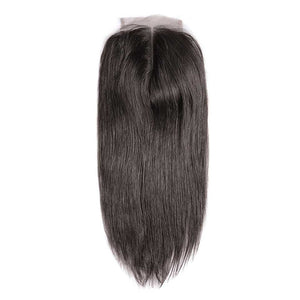 CEXXY Hair 4*4 Brazilian Hair Lace Closure Straight - cexxyhair.com
