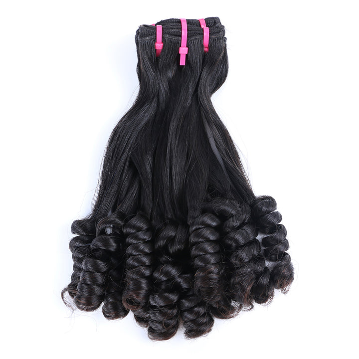 CEXXY HAIR FLOWER CURLY 12A FUNMI HAIR EXTENSION UNPROCESSED VIRGIN HAIR