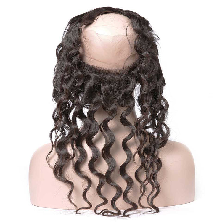 CEXXY Hair 360 Lace Frontal Human Hair Natural Wave - cexxyhair.com
