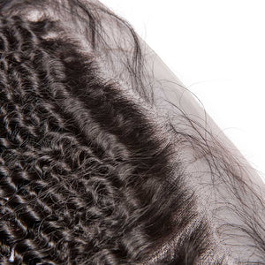 CEXXY Hair 13*4 Lace Frontal Brazilian Hair Kinky Curly - cexxyhair.com