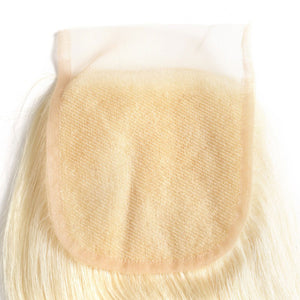 #613 Blonde 4*4 Lace Closure Body Wave - cexxyhair.com