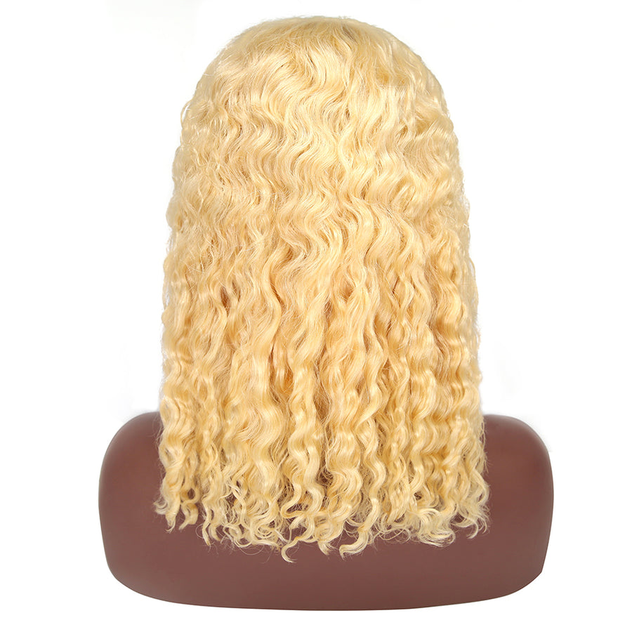 613 Curly Bob Wig Short Human Hair Wigs 150% 200% Density - cexxyhair.com