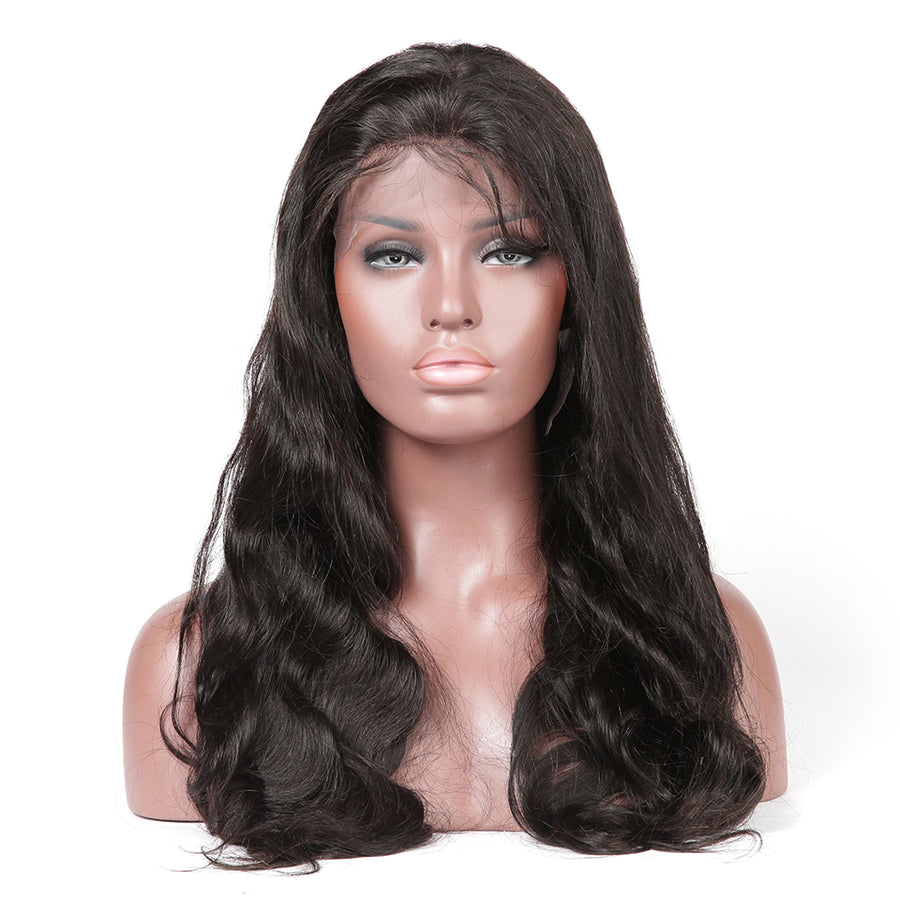 Body Wave Full Lace Wig With Baby Hair 100% Human Hair Wigs - cexxyhair.com