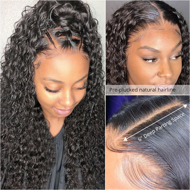 9A Deep Wave 13x6 lace front wig virgin hair Upgraded 2.0