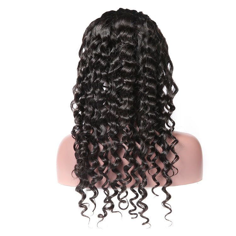 Natural Wave 13x4 Lace Front Wig 4x4 Closure Wigs 150% 200% 250% 300% Density - cexxyhair.com
