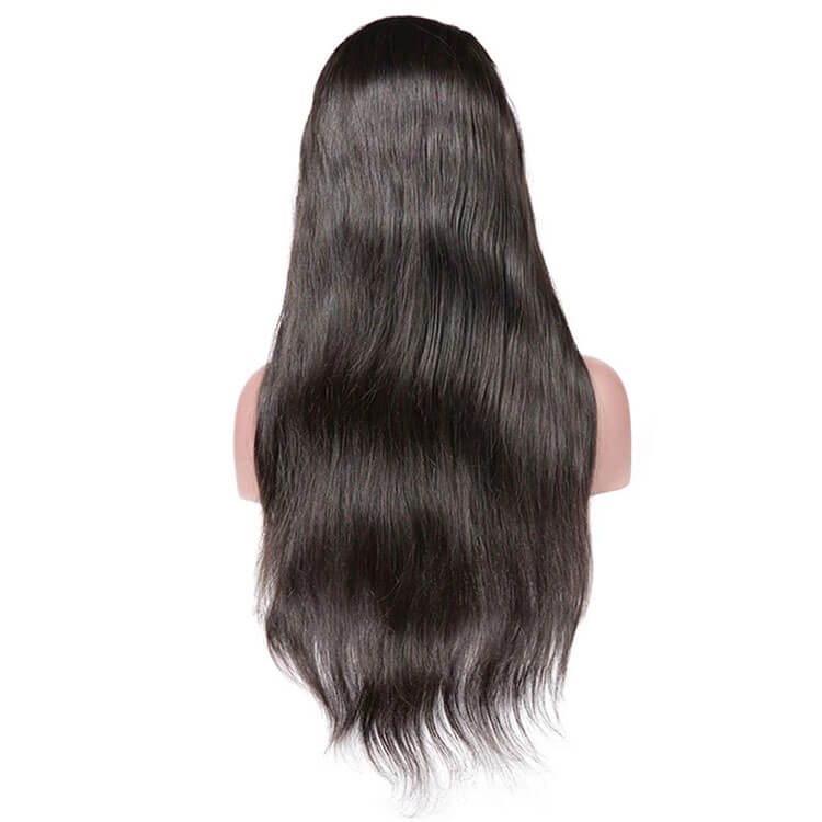 Straight 4x4 Closure Wigs 150% 200% 250% Density