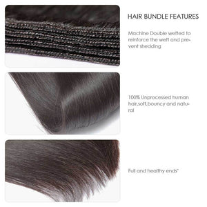 CEXXY HAIR LONG HAIR SERIES VIRGIN HAIR STRAIGHT BUNDLE DEAL - cexxyhair.com
