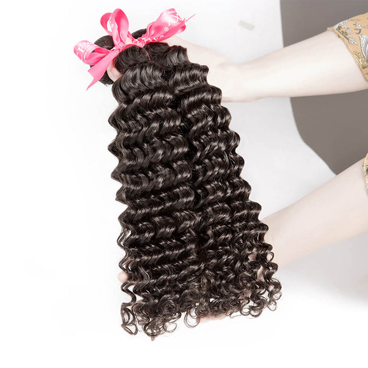 CEXXY Luxury Series Virgin Hair Deep Wave Bundle Deal - cexxyhair.com