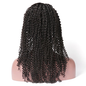 Kinky Curly 13x4 Lace Front Wig 4x4 Closure Wigs 150% 200% 250% 300% Density - cexxyhair.com