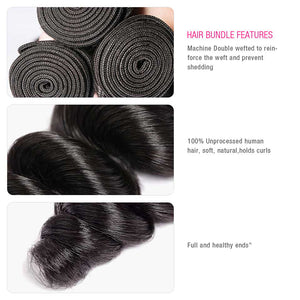 CEXXY Popular Series Virgin Hair Loose Wave Bundle Deal - cexxyhair.com