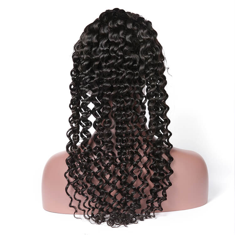 Transparent INVISIBLE LACE FRONT WIG DEEP WAVE 13X6 UNDETECTED LACE FRONTAL - cexxyhair.com