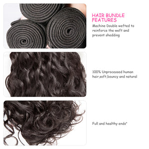 CEXXY LUXURY SERIES VIRGIN HAIR Water Wave BUNDLE DEAL - cexxyhair.com