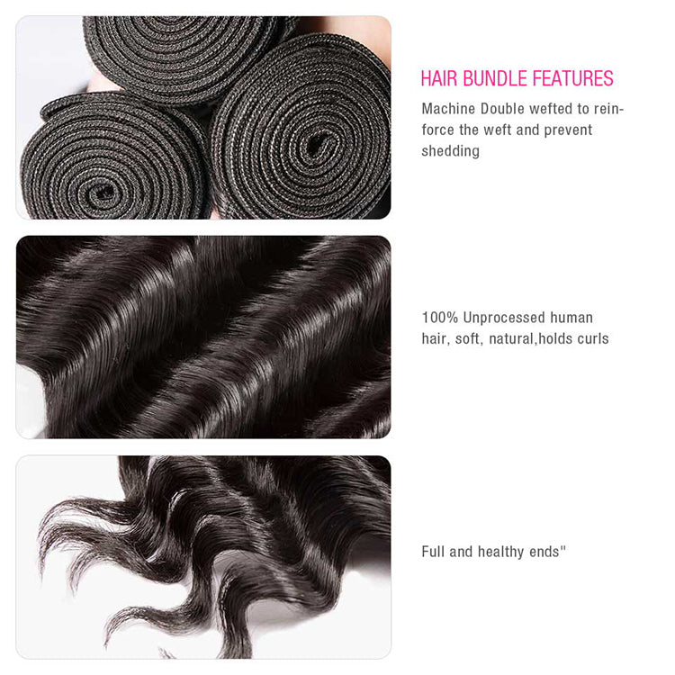 CEXXY Luxury Series Virgin Hair Natural Wave Bundle Deal - cexxyhair.com
