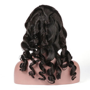 Transparent INVISIBLE LACE FRONT WIG LOOSE WAVE 13X6 UNDETECTED LACE FRONTAL - cexxyhair.com