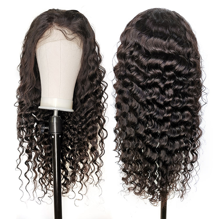 Cexxy hair Natural Wave 13x6 lace front wig virgin hair Upgraded 2.0