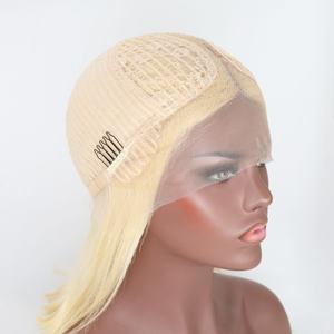 T Part 613 Blonde Wig Body Wave Lace Front Wig Human Virgin Hair