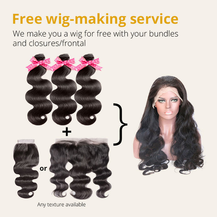 CEXXY Hair provide Free wig-making service for you