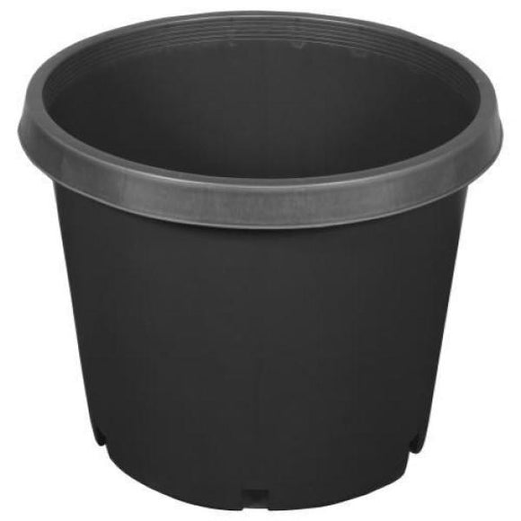 15 Gal. Black Resin Nursery Pot - C&J Gardening Center
